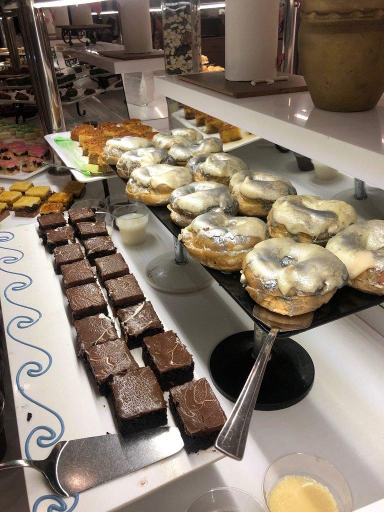 Desserts bij Palm Wings Ephesus in Kusadasi - All Inclusive naar Turkije tips van Foodblog Foodinista