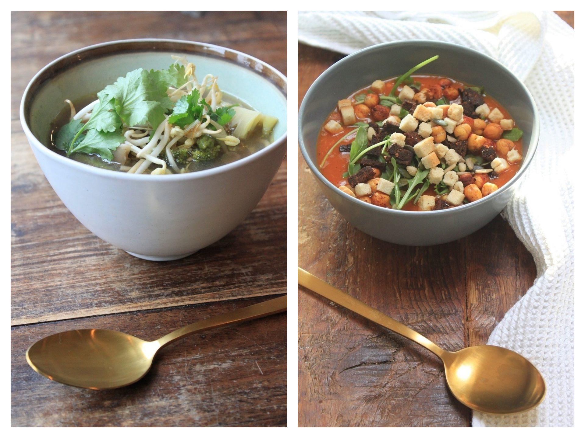 Soeprecepten van Foodblog Foodinista van preisoep tot bruine bonensoep