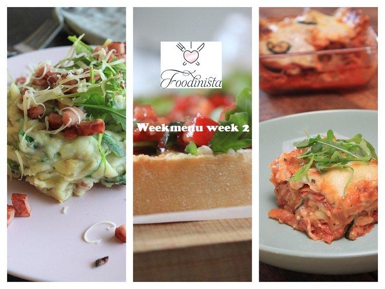 Foodblog Foodinista weekmenu – Week 2 – 2020 van lasagne tot stamppot