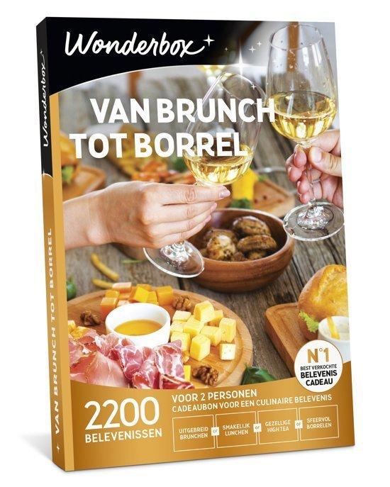 Cadeaukaart wonderbox van brunch tot borrel cadeautjes tips van foodblog Foodinista