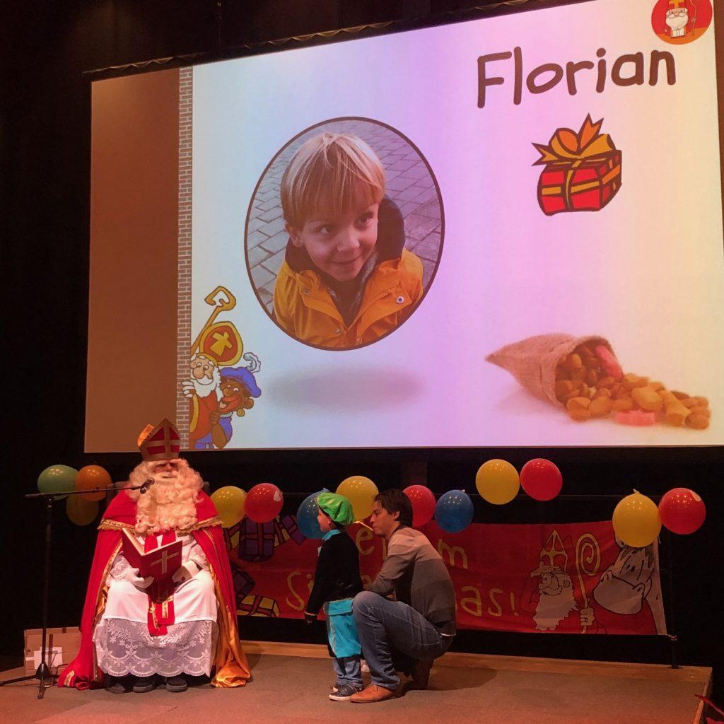 Florian bij Sinterklaas