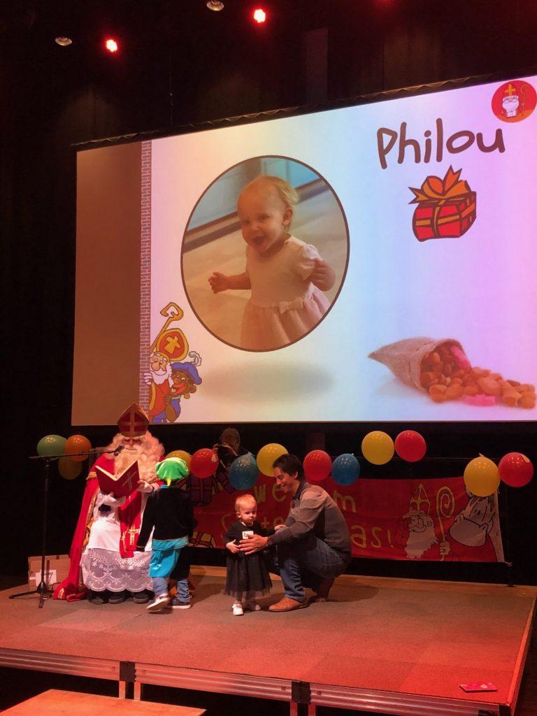 Philou bij Sinterklaas