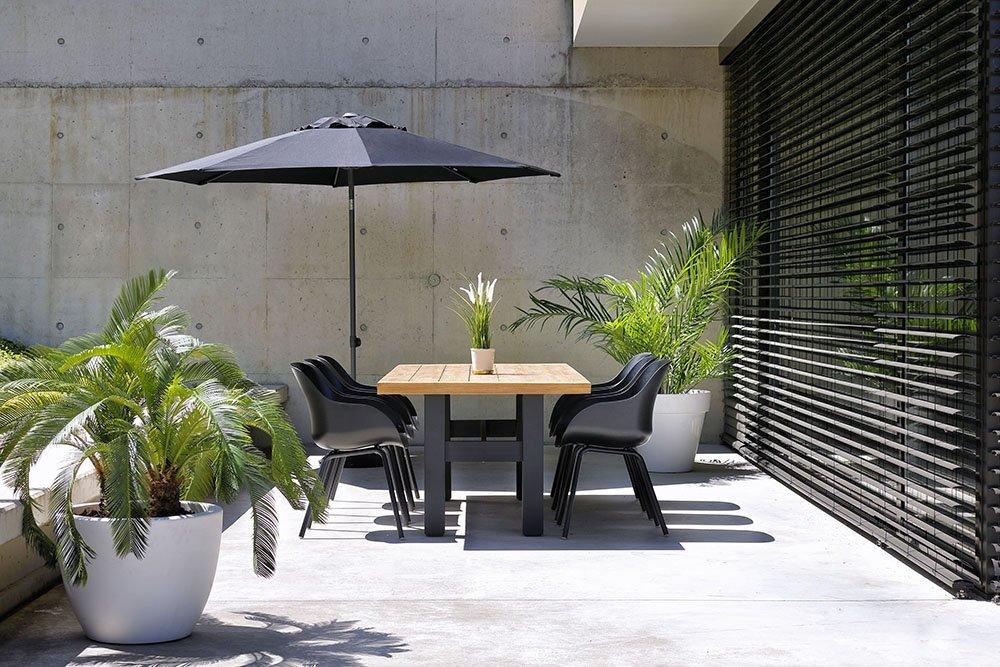 Maak je terras zomer klaar met de perfecte parasol - Tips van Foodinista