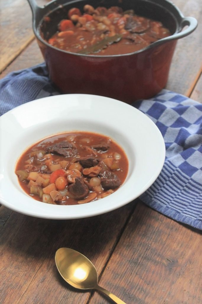 Franse stoofschotel recept - Boeuf Bourguignon - Foodblog Foodinista