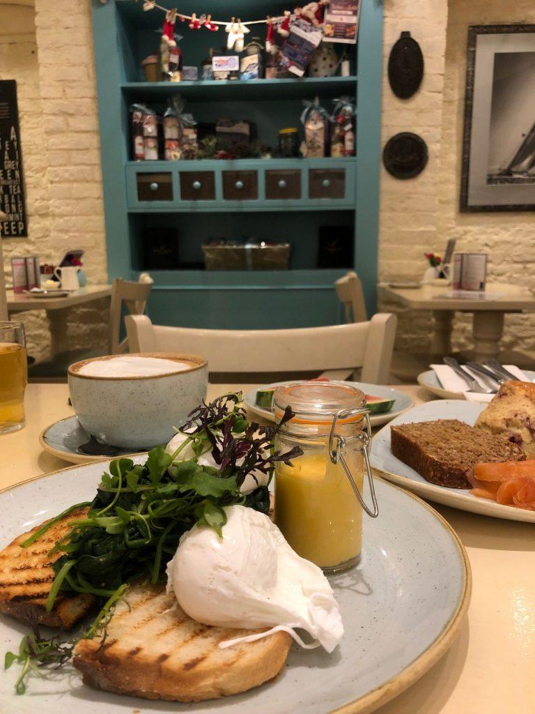 Ontbijt bij Old Bank House in Kinsale is een feestje - hotel tips in Kinsale