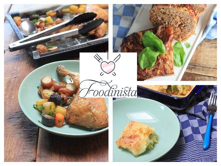 Weekmenu Week 13 van Foodblog Foodinista - Makkelijke ovenschotels weekmenu