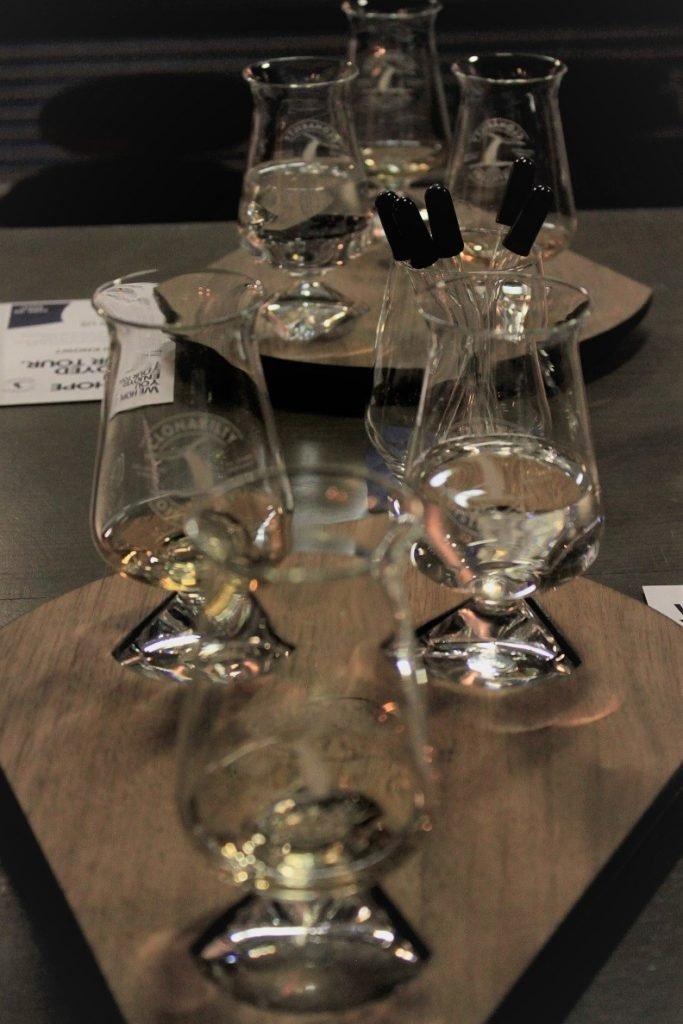 Whiskey Proeverij bij Clonakilty in Ierland