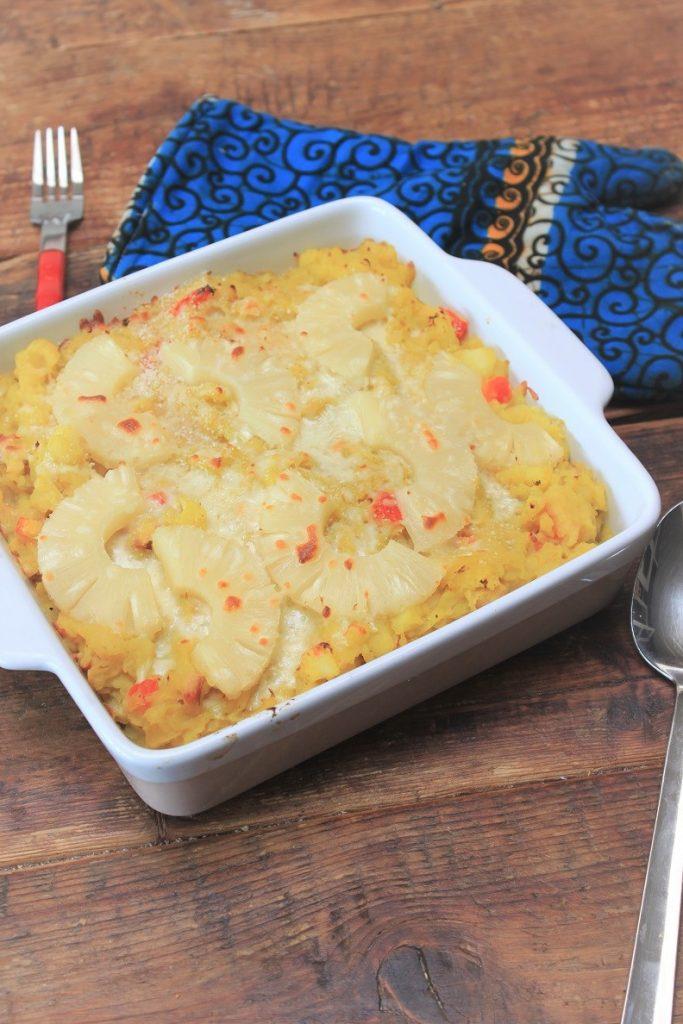 Zomerse stamppot ovenschotel met zuurkool recept van Foodblog Foodinista