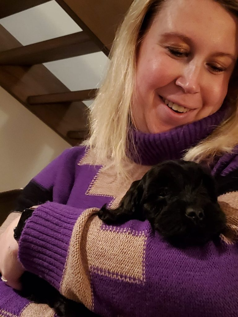 Nieuw hondje in de familie