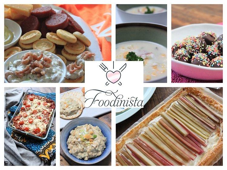 Foodblog Foodinista - Week 17 - Weekmenu met Koningsdag recept