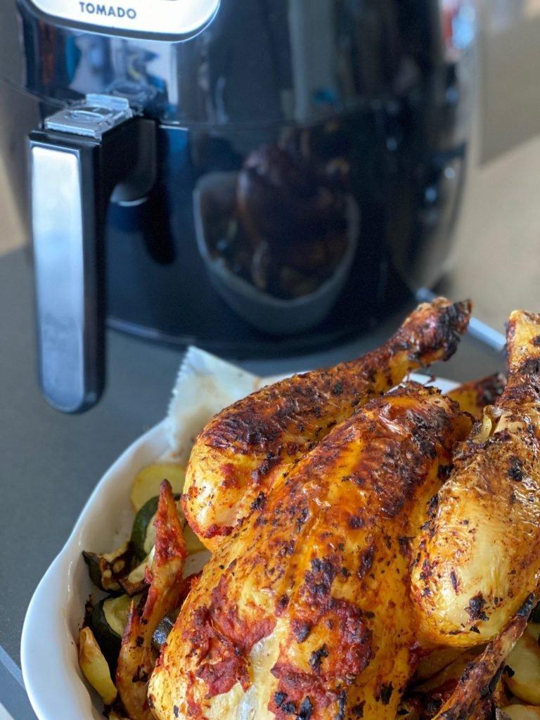 Tomado hetelucht friteuse winnen bij Foodblog Foodinista