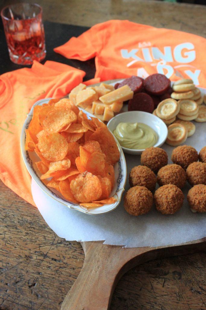 Borrelplank tips voor Koningsdag van Foodblog Foodinista