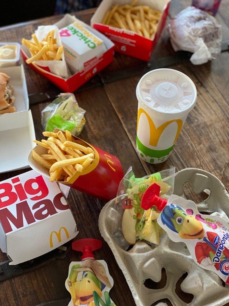 McDonalds met de Kinderen