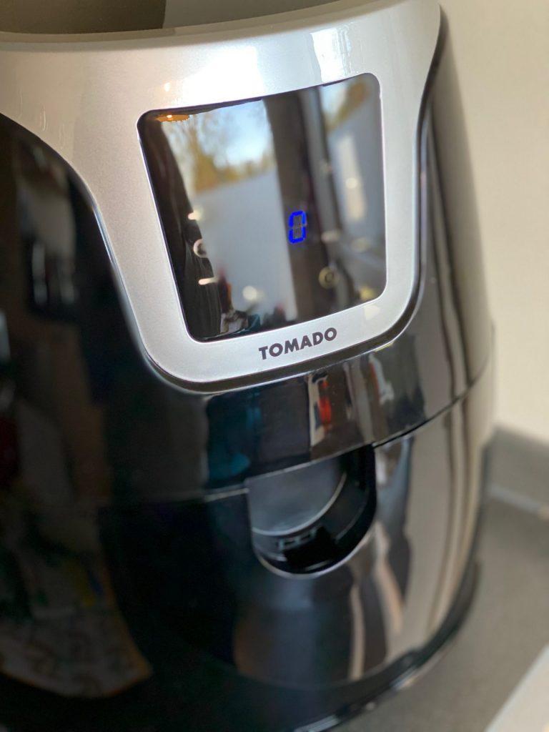 Hetelucht friteuse van Tomado instellen tips van Foodblog Foodinista