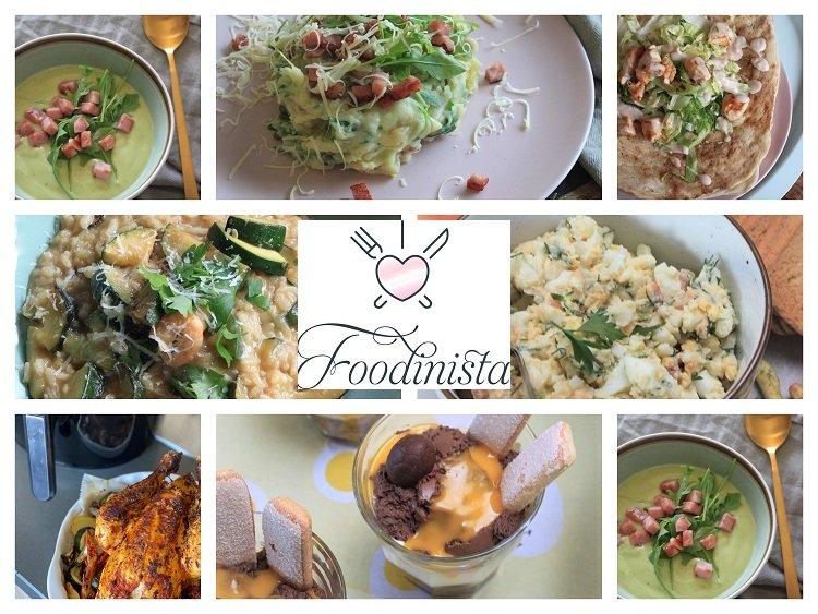 Foodblog Foodinista - Week 14 - Lente weekmenu + Paasrecepten tips