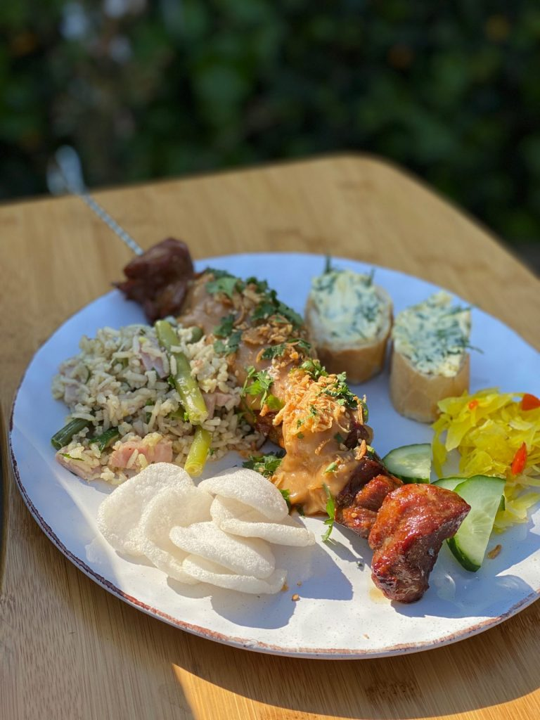 Recept varkenshaas barbecuespies van Foodblog Foodinista