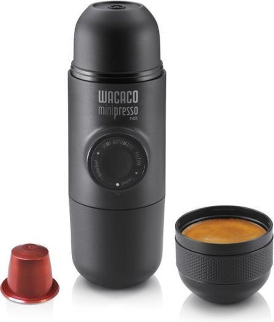 Vaderdag cadeau tips Wacacao minipresso koffiezet nespresso apparaat Foodblog Foodinista