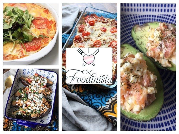 Foodblog Foodinista – Week 19 – Koolhydraatarm weekmenu