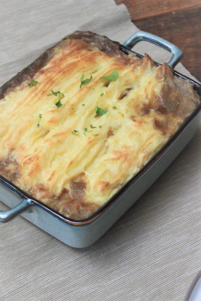Ierse stoofpot met Guinness en aardappelpuree - Iers stoofvlees met bier -Foodblog Foodinista