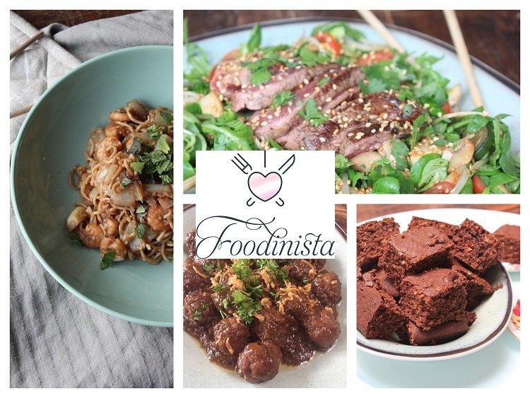 Foodblog Foodinista Weekmenu – Week 21 - Weekmenu met een Aziatische twist