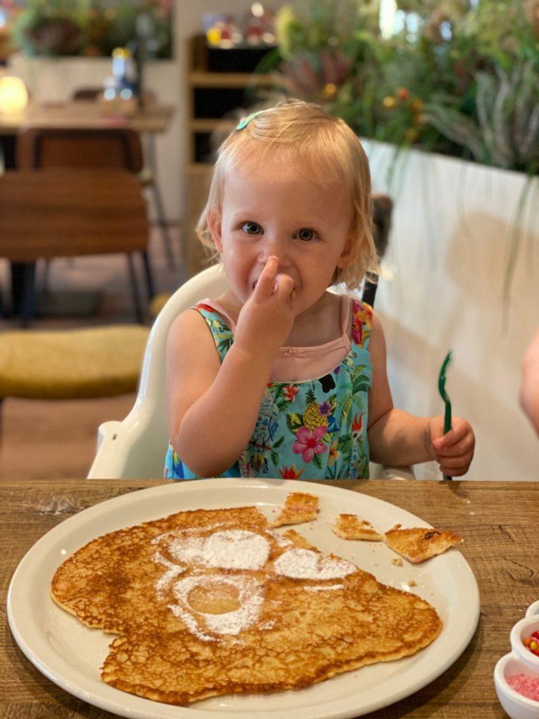 Verjaardag pannenkoek eten bij De Financieën in Loon op Zand