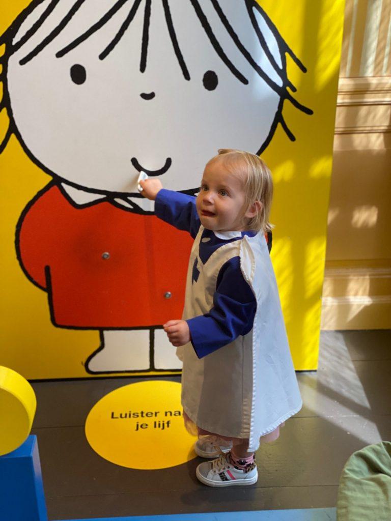 Spelen in het Nijntje Museum