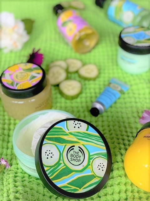 Verwennerij met Komkommer en Citroen van Bodyshop + Winactie! - Nieuwe Cool Cucumber en Zesty Lemon