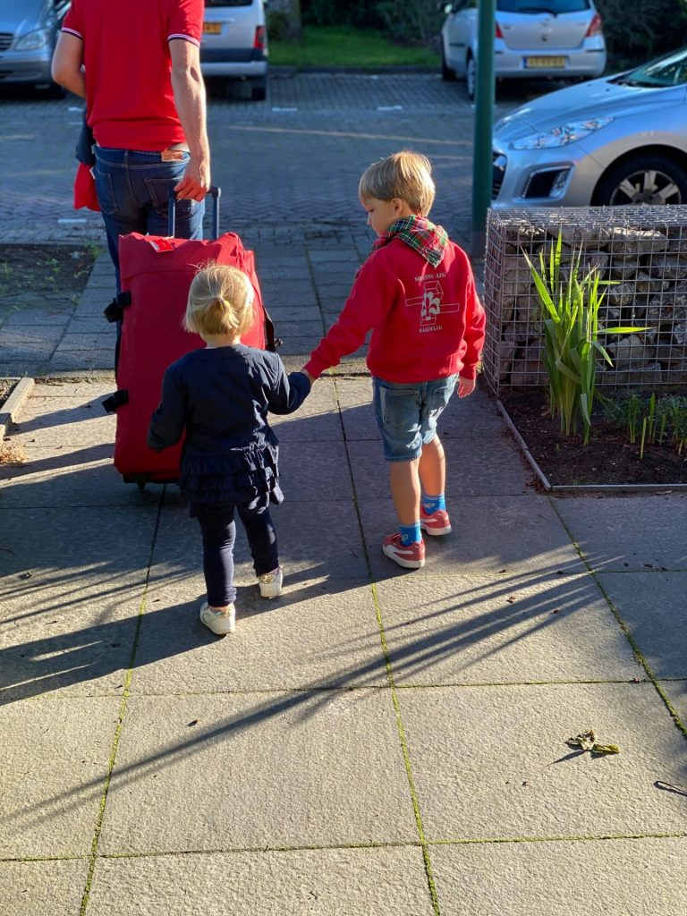 Vertrek naar KDV en Scouting kamp - Juli Dagboek van Foodinista