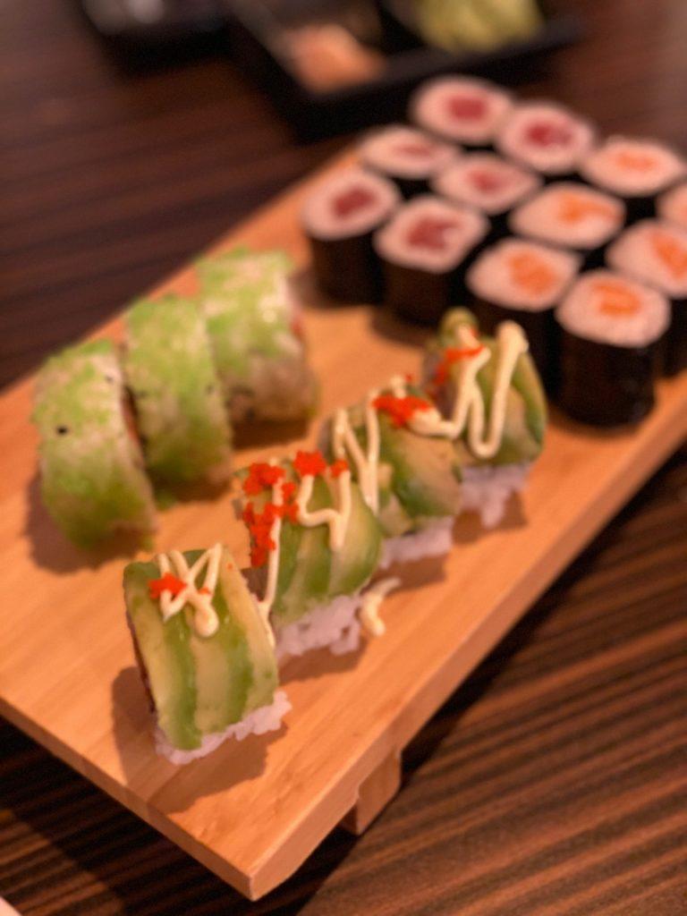 Sushi eten in Oosterhout met kinderen