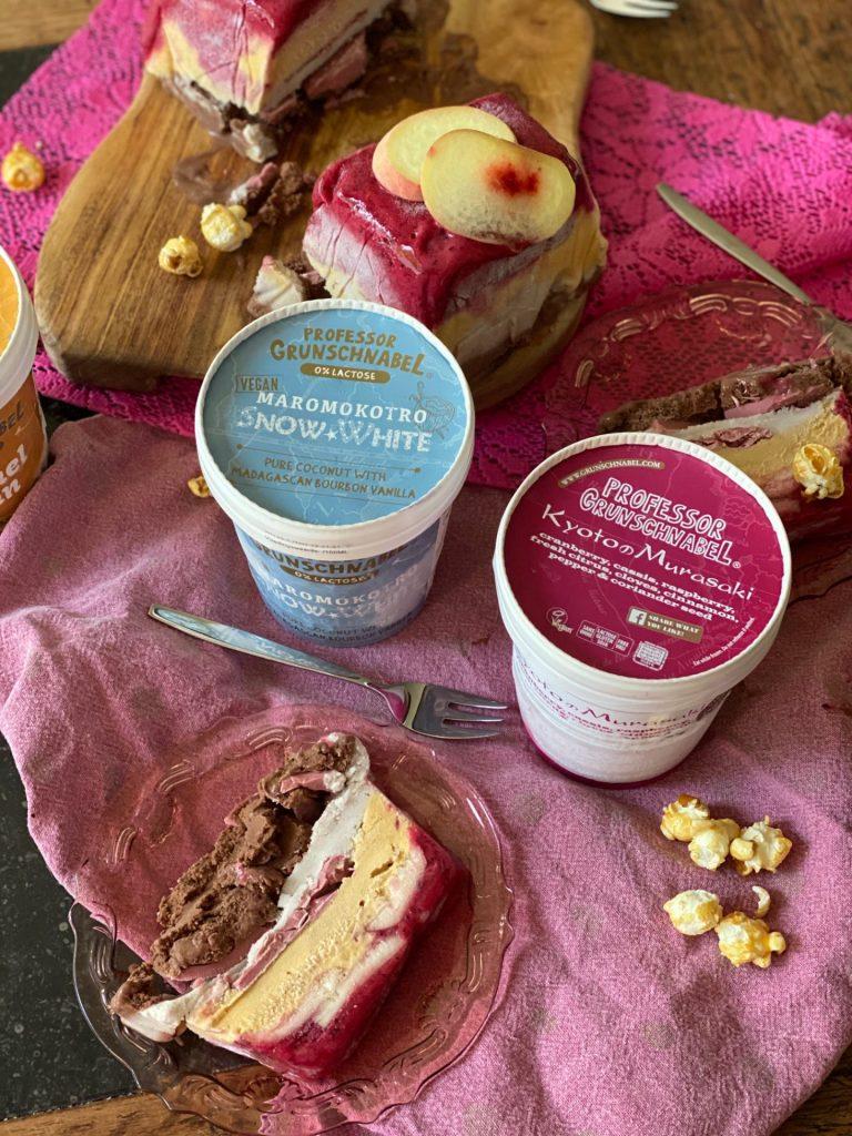 Sorbet ijstaart recept met ijs van Professor Grunschnabel - Recept van Foodblog Foodinista