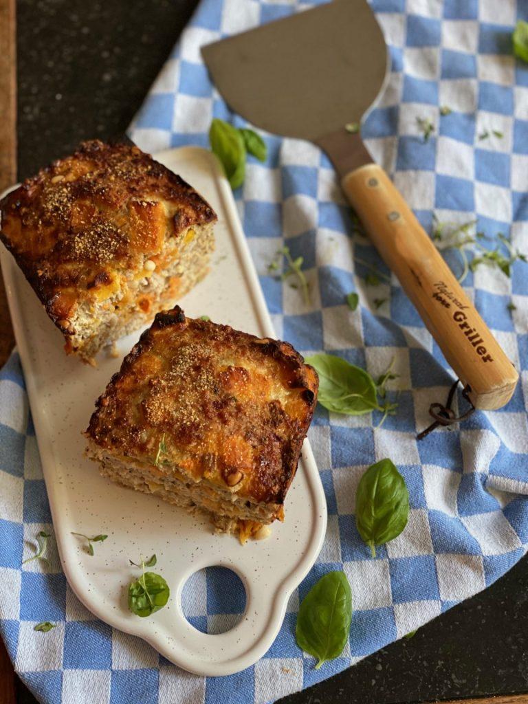 Gehaktbrood met herfst ingrediënten - Gehaktbrood met pompoen - Foodblog Foodinista