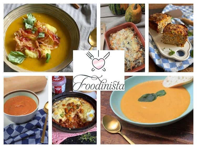 10x Recepten met pompoen - Foodblog Foodinista