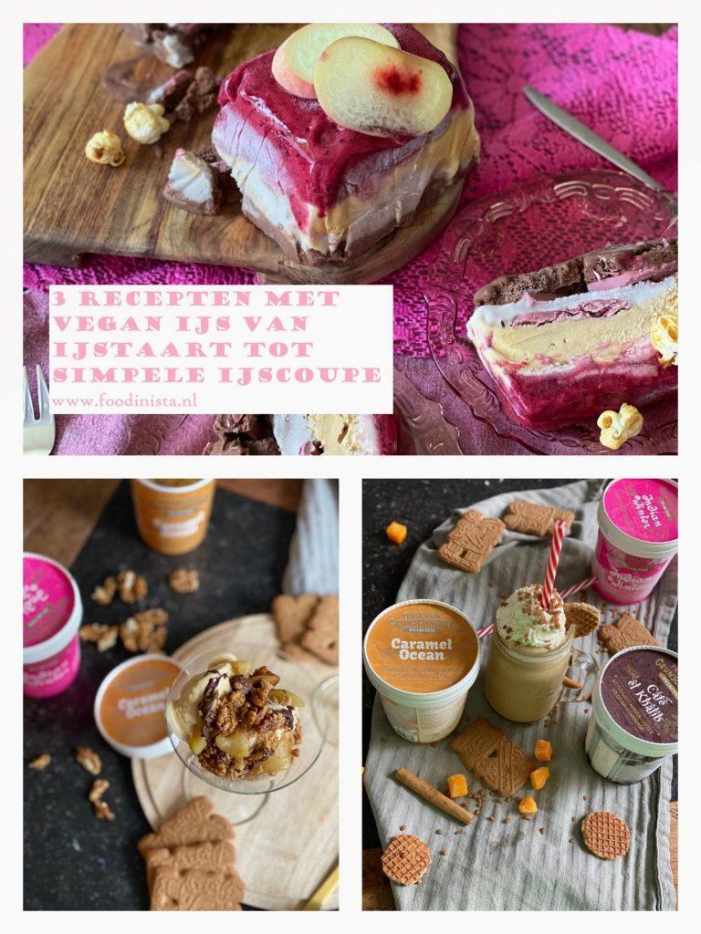 3x Verrukkelijke ijsrecepten met vegan ijs van Professor Grunschnabel - Foodblog Foodinista