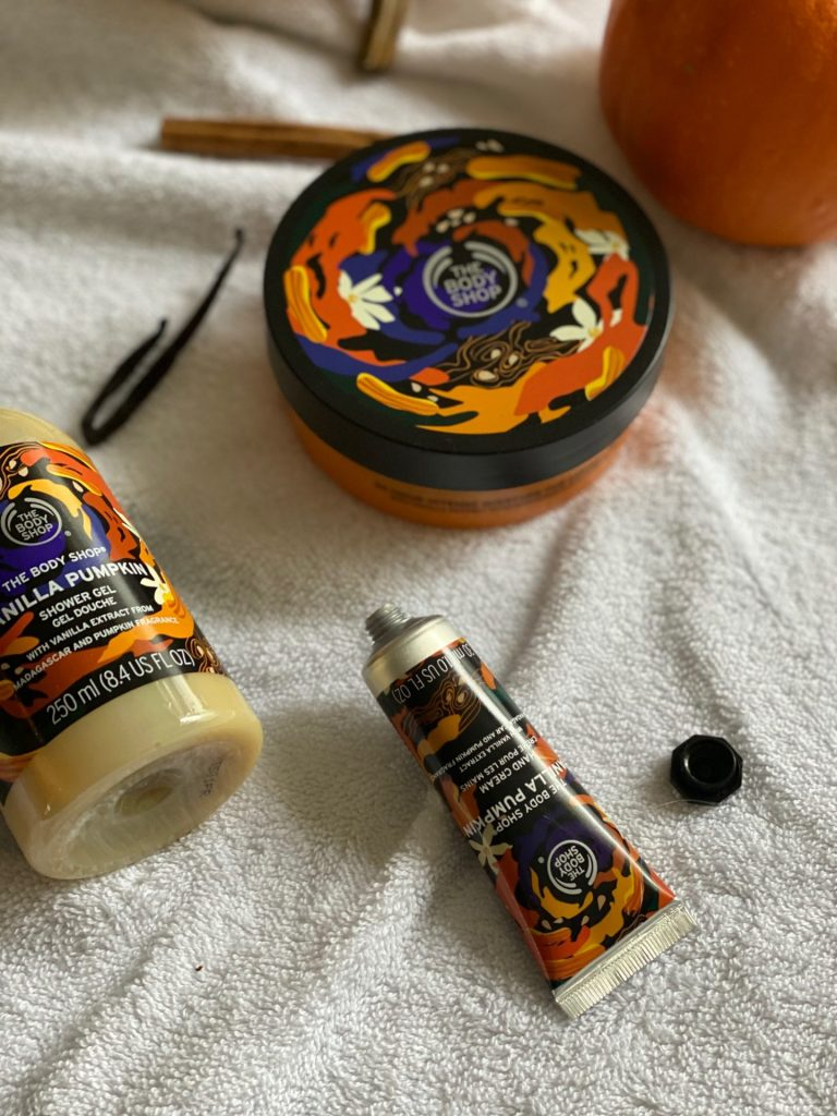Daphne's Herfst Happy Musthaves Wk 2 - The Body Shop Vanilla Pumpkin Lijn