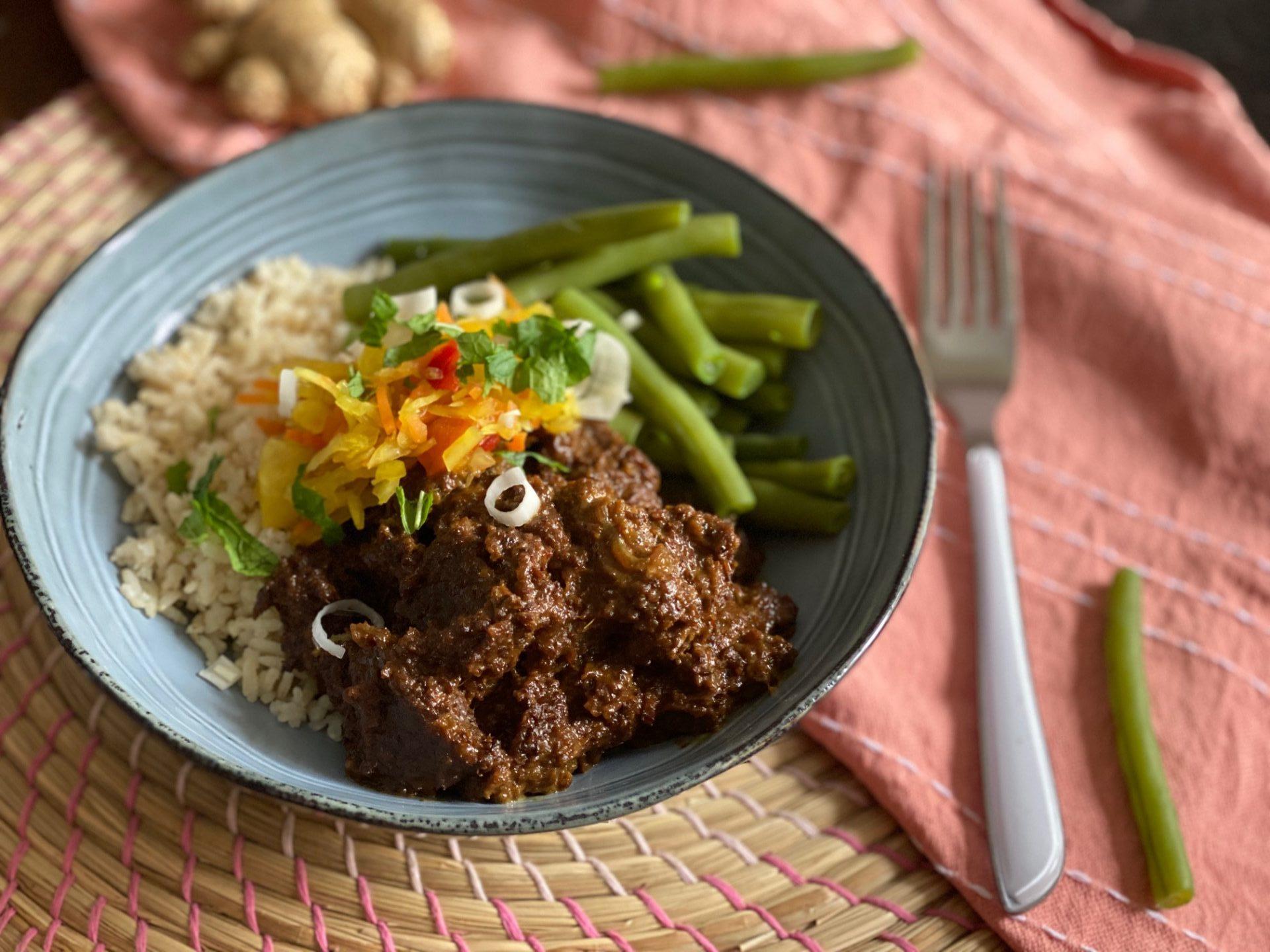 Rendang maken - Indonesisch stoofvlees volgens Foodblog Foodinista