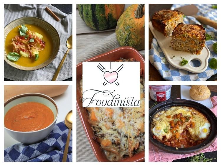 Foodblog Foodinista – Week 39 – Variëren met Pompoen Weekmenu