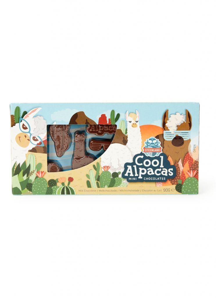 Alpaca chocolade - Chocolade cadeautjes tips van Foodinista