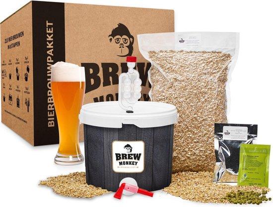 Cadeau tip voor bierliefhebbers - Brew Monkey bierbrouwpakket - Cadeau tips van Foodinista