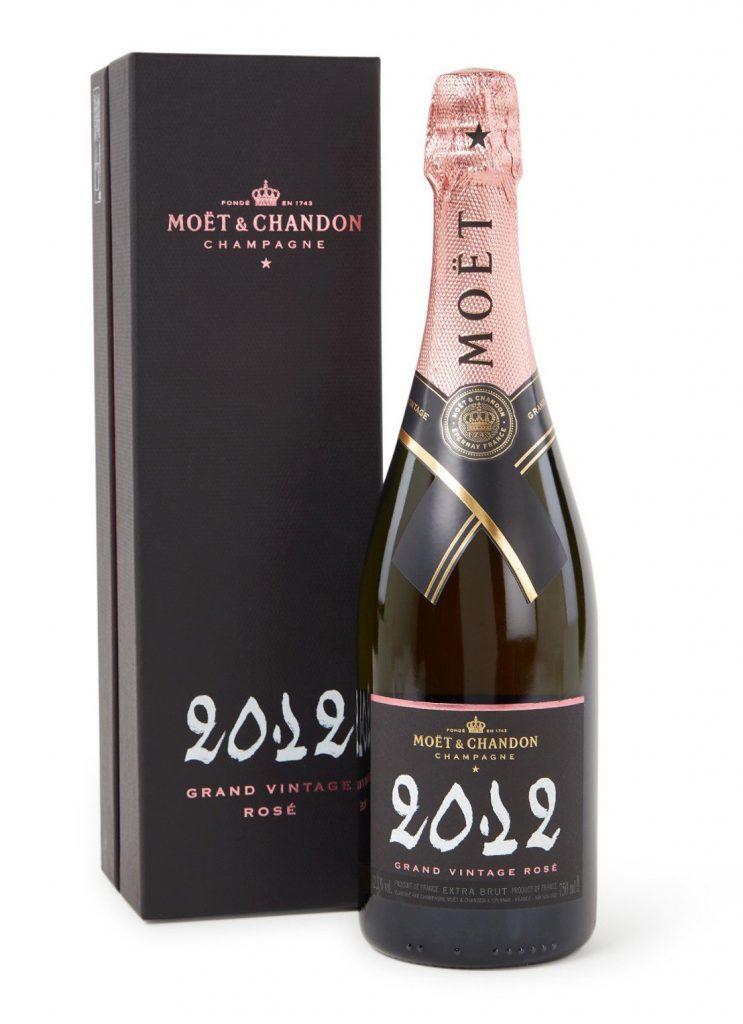 Moet Vintage Champagne roze - Heerlijke feestdagen cadeau tips van Foodinista