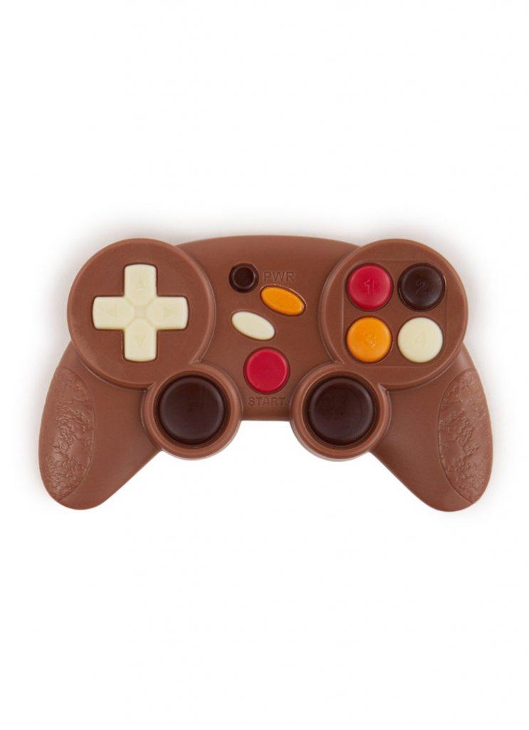 Chocolade game console - Ludieke Sinterklaas cadeautjes voor dobbelen en surprises - Feestdagen cadeau tips van Foodinista