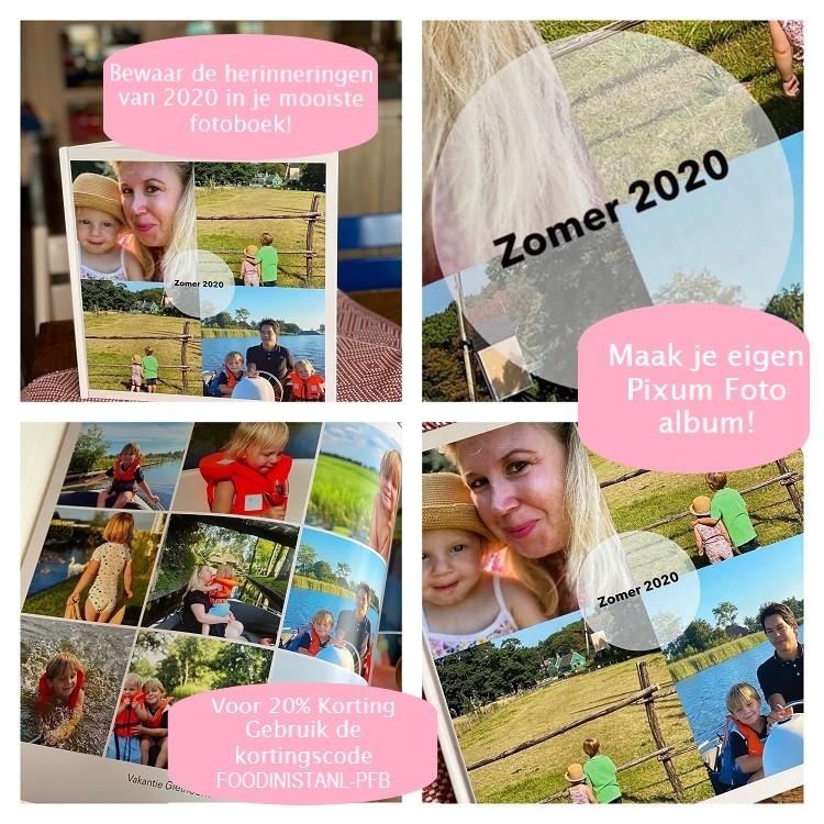 Pixum fotoboek bestellen met korting - Tips van Foodinista