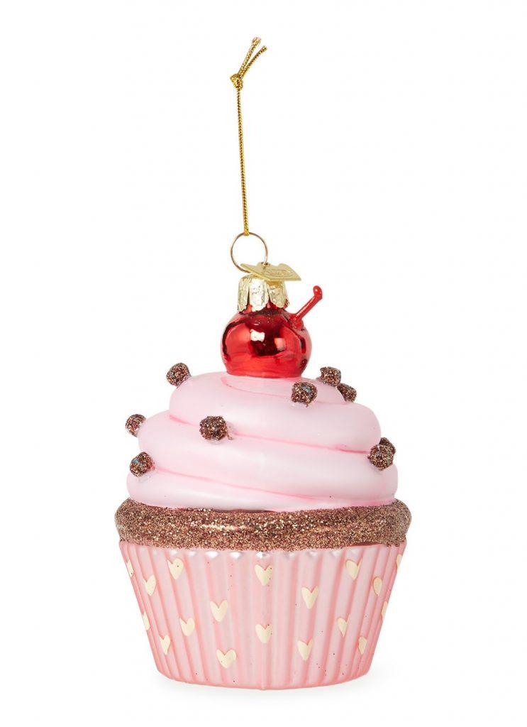 Kersthangers voor foodies - Cupcake kersthanger - kerstcadeautjes tips van Foodinista