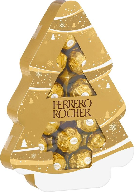 Ferrero Rocher kerstboom - Kerst special cadeautjes - Feestdagen cadeau ideetjes van Foodinista