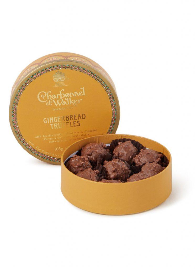 Gingerbread chocolade truffels - Luxe chocolade cadeau tips voor de feestdagen - Foodinista