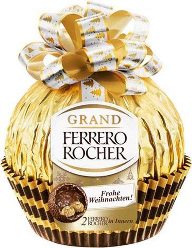 Grote Ferrero Rocher - Kerst special cadeautjes - Feestdagen cadeau ideetjes van Foodinista