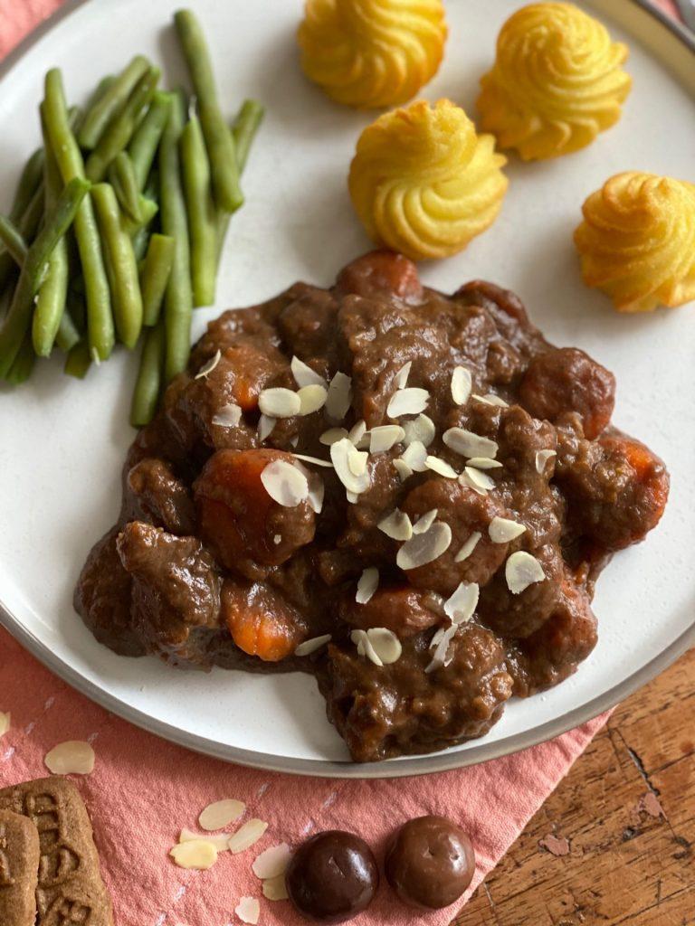 Leuk recept voor Sinterklaasavond - Sinterklaas stoofpotje met rundvlees - Recept van Foodinista