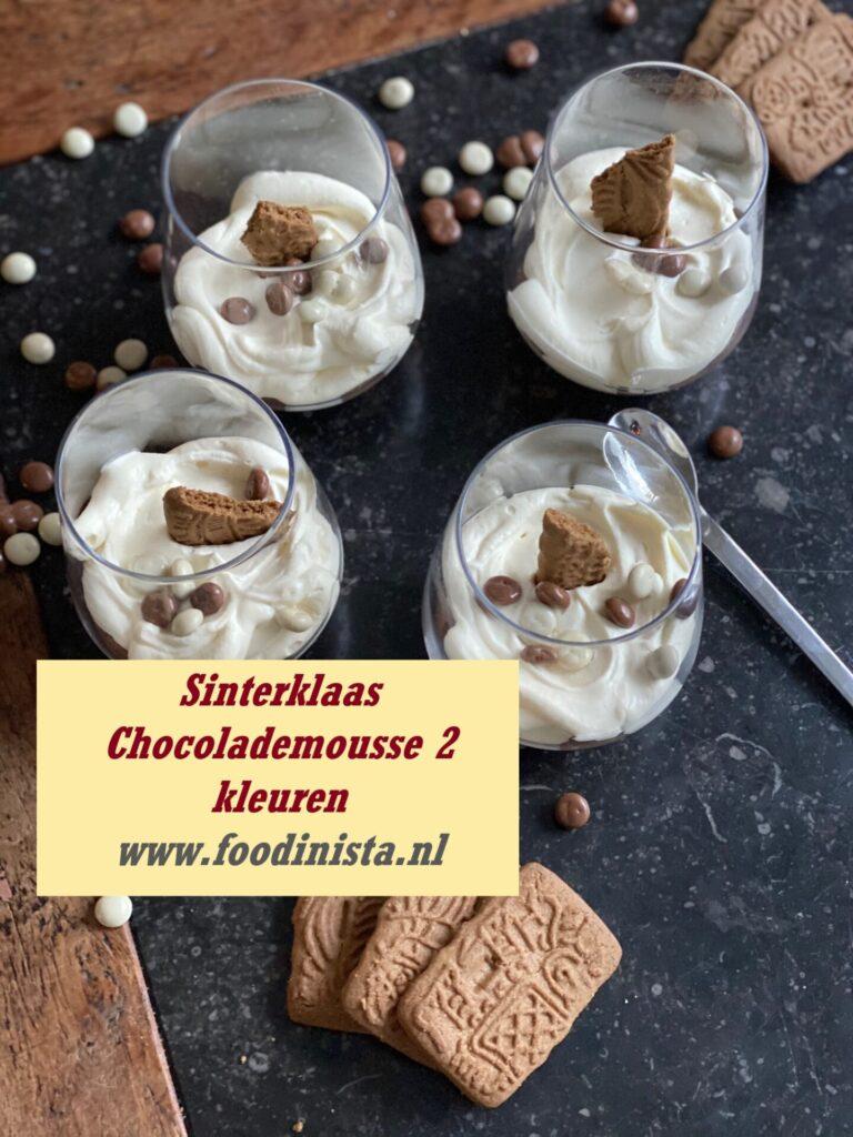 Recept Sinterklaas Chocolademousse met Speculaas