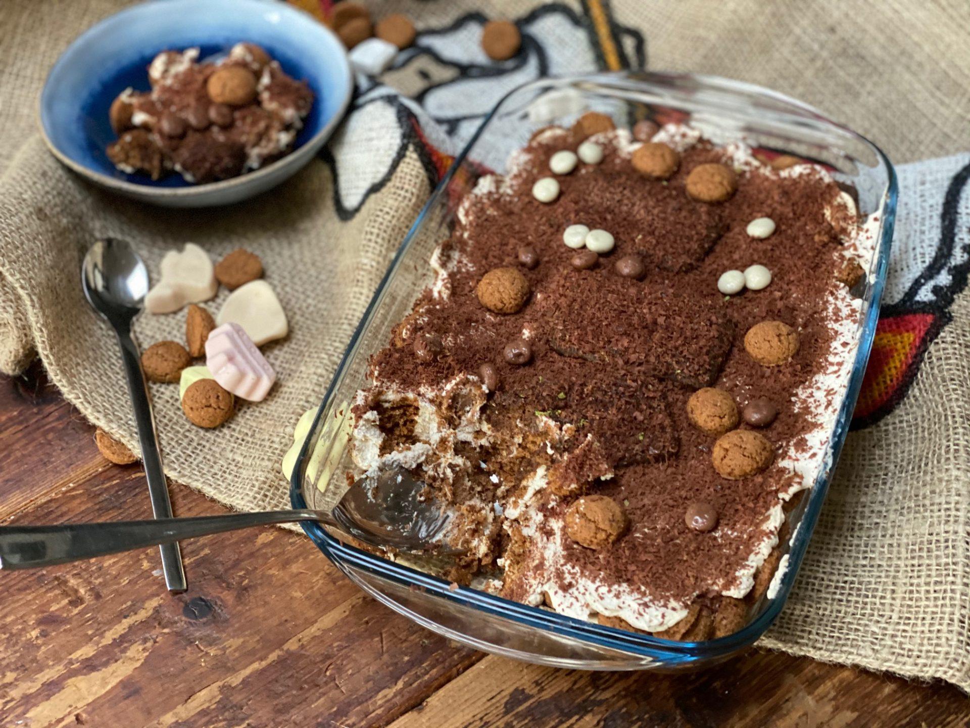 Sinterklaas Tiramisu met speculaas en kruidnootjes - Foodblog Foodinista