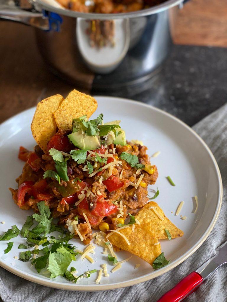 Tips voor de bereiding van de bruine bonen stamppot met Mexicaanse smaken- Foodblog Foodinista