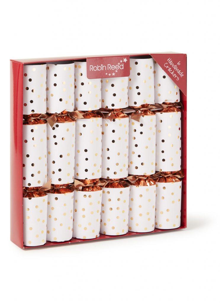 Kerstcrackers met chocolade - Kerstcadeautje voor een groep - cadeau tip van Foodinista